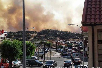 incendio Valdemorillo julio 2013