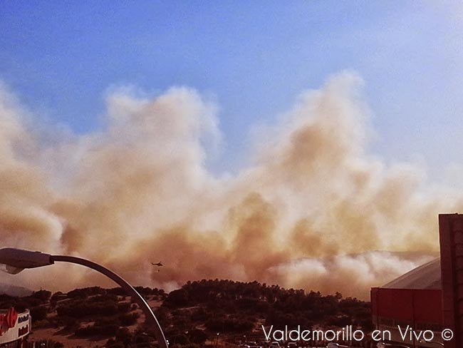 incendio Valdemorillo julio 2013