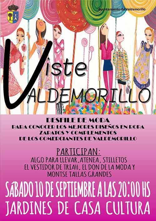 desfile de moda Valdemorillo 2016
