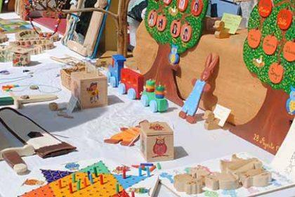 mercadillo artesano Valdemorillo fiestas septiembre 2016