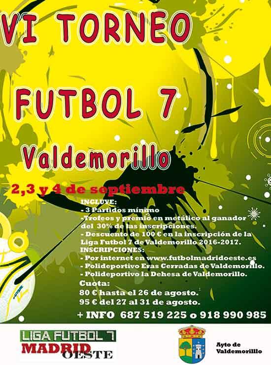 torneo fútbol 7 Valdemorillo 2016