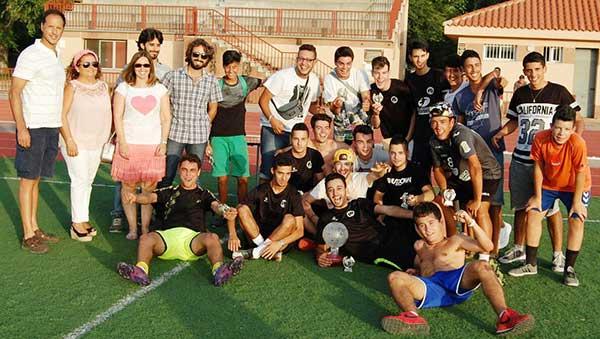 camping San Juan campeones Fútbol-7