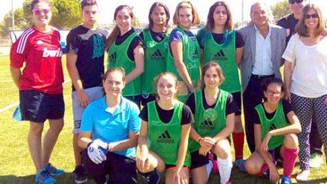 equipo femenino fútbol 7 Valdemorillo