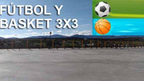 Fútbol y basket 3x3 Valdemorillo