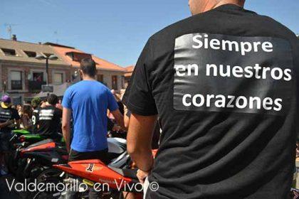 homenaje Carmen accidente moto
