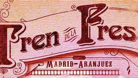 Tren de la fresa Madrid Aranjuez