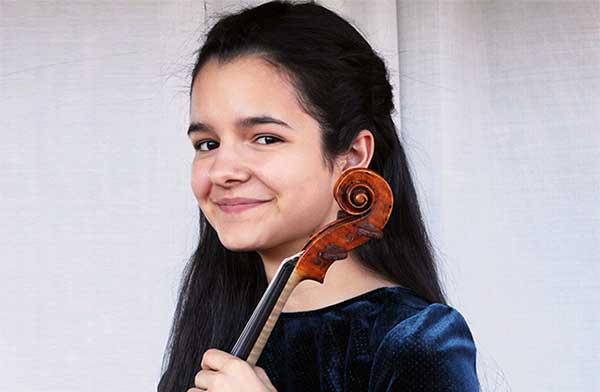 Patricia Cordero violinista