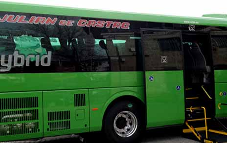 Nuevos autobuses h bridos para la zona noroeste de madrid for Madrid noroeste