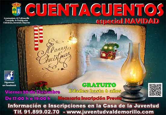 cuenta cuentos navidad Valdemorillo 2016-17