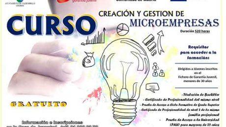 curso creación microempresas Valdemorillo