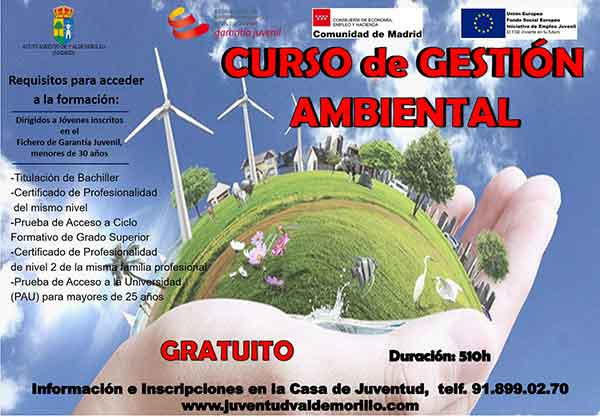 curso gestión ambiental Valdemorillo