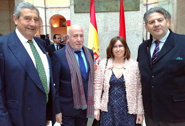 Concejal Luis Entero Alcaldesa Gema González Valdemorillo