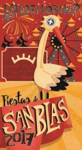 portada programa fiestas San Blas Valdemorillo 2017