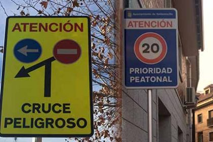 nueva señalizacion vial Valdemorillo