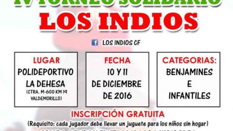 torneo recogida juguetes Valdemorillo 2016-17