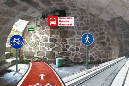 Carril bici subterráneo Valdemorillo