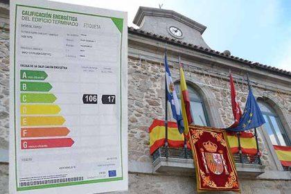 Calificación energética Ayuntamiento-valdemorillo