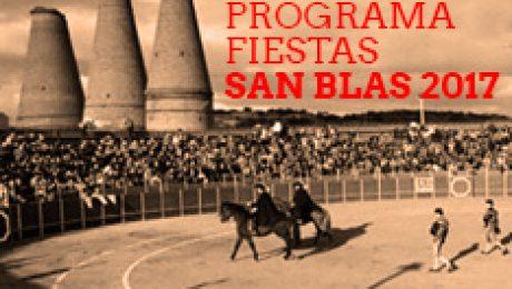 Cartel y programa fiestas San Blas Valdemorillo 2017
