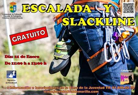 escalada y slackline Valdemorillo San Blas 2017