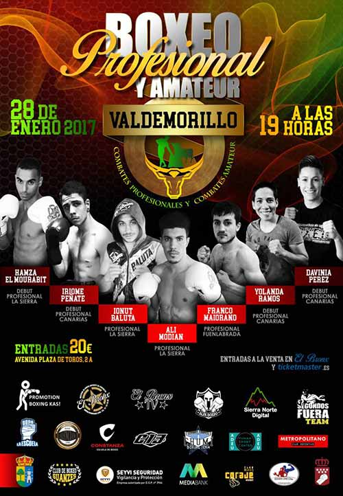 exhibición boxeo Valdemorillo