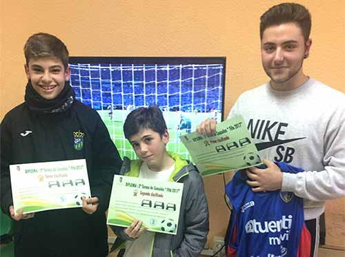 ganadores consolas Valdemorillo 2017