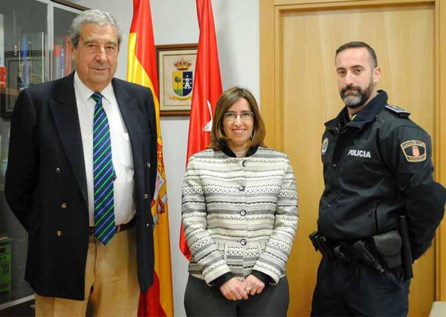 jefe Policía local Valdemorillo 2017