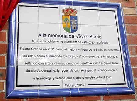 memoria Víctor Barrio