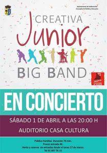 concierto big band junior tertulias casa cultura Valdemorillo