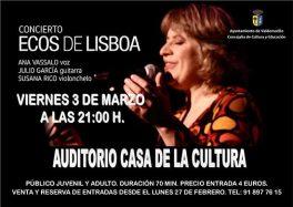 Concierto ecos de Lisboa