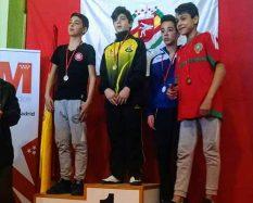 ganadores lucha olímpica Valdemorillo