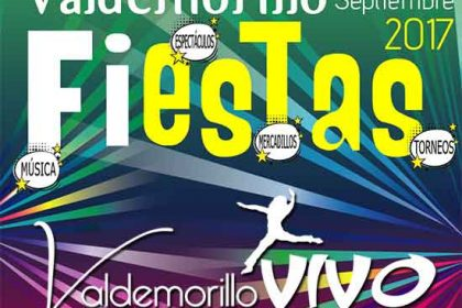 fiestas septiembre Valdemorillo 2017