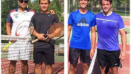 campeones torneo tenis Valdemorillo 2017