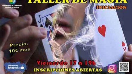 taller iniciación a la magia Valdemorillo 2017