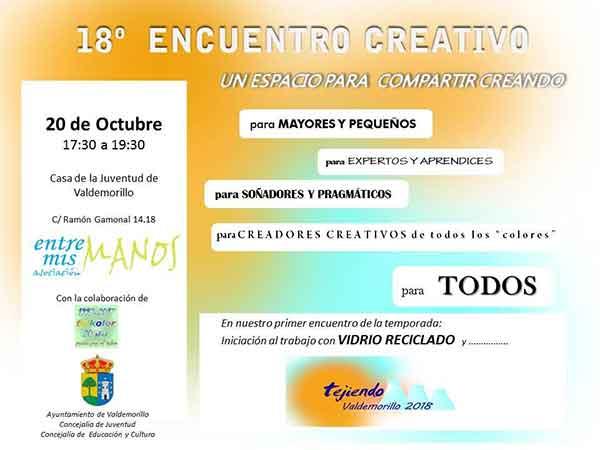 18º encuentro creativo V*aldemorillo