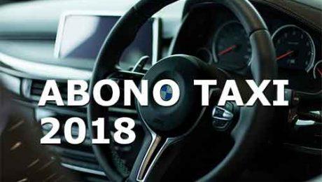 abono taxi 2018 Valdemorillo