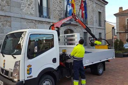 camión grúa Valdemorillo