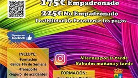curso monitor tiempo libre Valdemorillo 2018