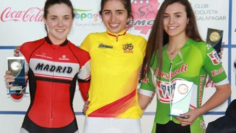 Adriana San Roman ciclista
