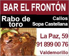 Bar el Frontón Valdemorillo ad
