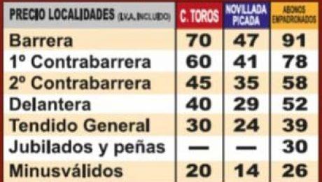 precio localidades feria san Blas 2018 Valdemorillo
