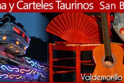 programa y carteles taurinos San Blas 2018 Valdemorillo