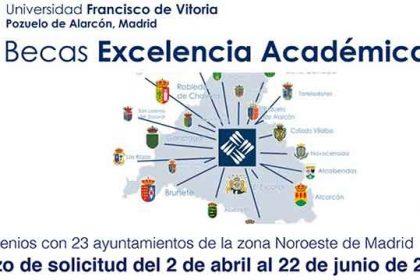 becas académicas Universidad Francisco de Vitoria