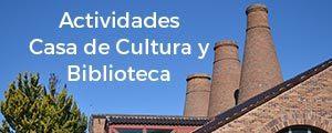 Actividades Casa de Cultura Valdemorillo