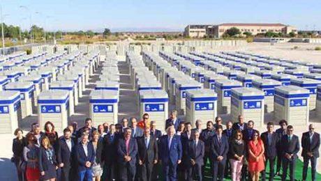 contenedores reciclaje valdemorillo