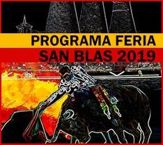 Programa fiestas San Blas Valdemorillo 2019