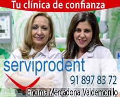 clínica dental Valdemorillo Serviprodent