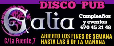Galia disco pub Valdemorillo