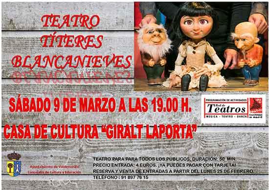 teatro títeres Blancanieves