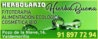 herbolario hierbabuena Valdemorillo